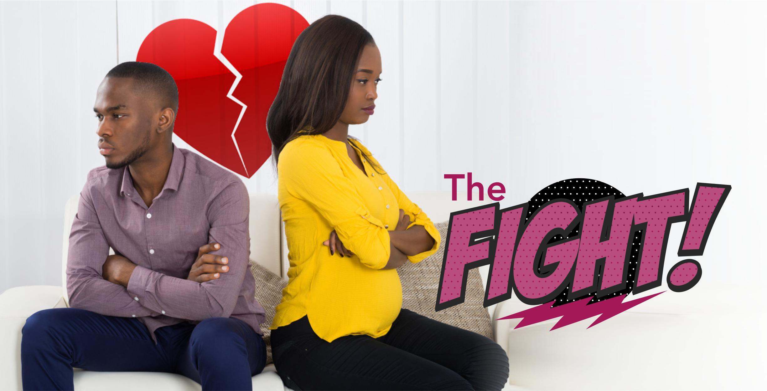 The Valentine's Day fight